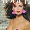 Paulina Porizkova na naslovnici Vogue-a 1987.