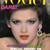 Gia Carangi na naslovnici Vogue UK 1979.