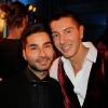 Andrea Danese con Stefano Gabbana