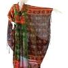 Thea Porter kaftan od pamuka Ikat sa tradicionalnom ogrlicom iz 80-ih god. Početna cena je 800$ (£519).