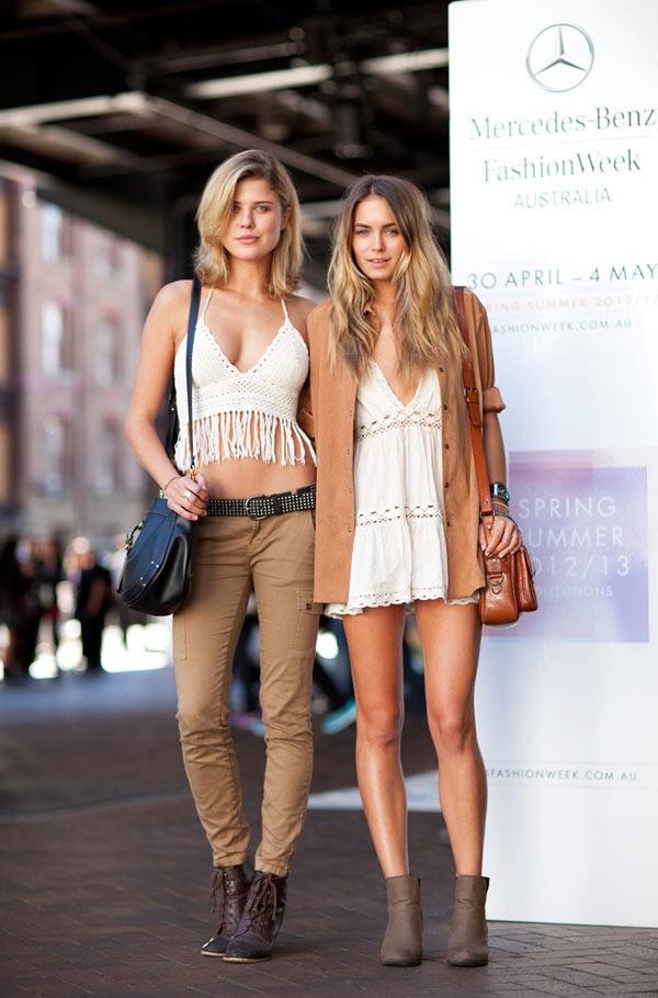 Street style na australijskom Fashion week-u