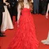 Isla Fisher izabrala je Oscar de  la Renta crvenu haljinu