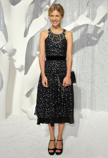 Clemence Poesy, Chanel proleće/leto 2012 Ready-to-Wear, Pariz Fashion Week