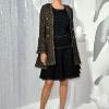 Uma Thurman, Chanel proleće/leto 2012 Ready-to-Wear, Pariz Fashion Week