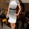 Jessica Stam ŠTA: Jason Wu haljina GDE: Roger Vivier butik, Njujork KADA: 8. septembar