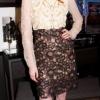 Karen Elson ŠTA: Valentino haljina; Tabtha Simmons cipele GDE:Lanvin store, Njujork KADA: 8. septembar