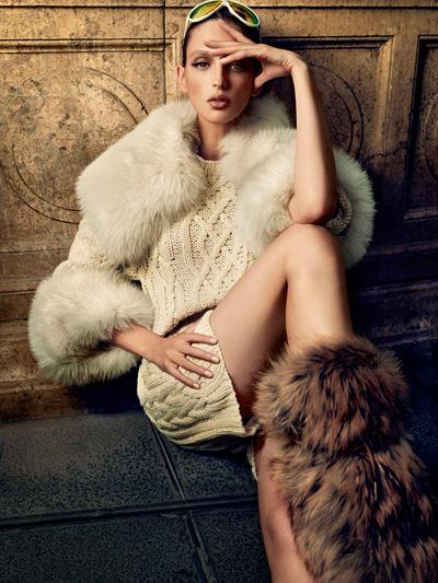 Georgina Stojiljkovic Hunter Gatti Vogue Spain