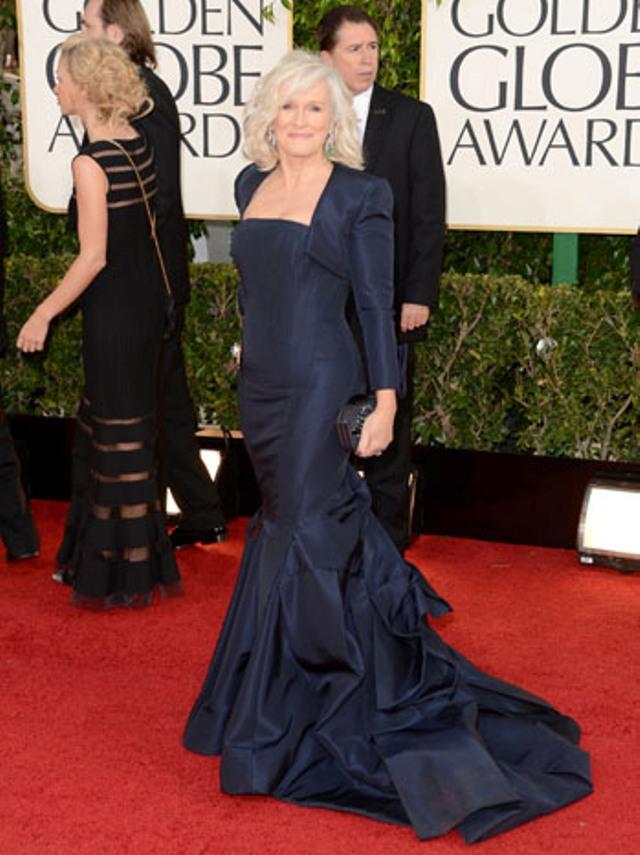 Glenn Close u Zac Posen haljini