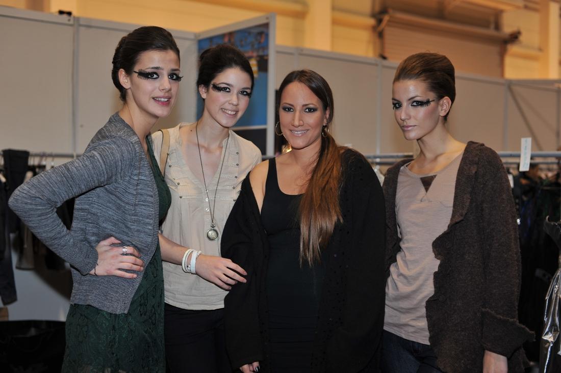 Dizajnerka Ljube Sikimić sa modelima