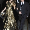 Jessica Alba sa dizajnerom svoje metalik haljine Michaelom Korsom