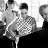 Mila Kunis za Dior snimanje