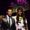 David Gandy i Jourdan Dunn