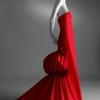Crvena večernja haljina koju je nosila Anne Hathaway na dodeli Oskara 2011.