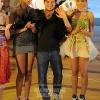Ricardo Ramos with models