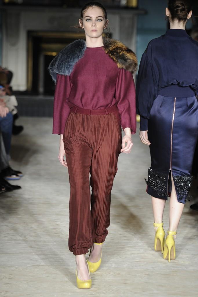 Roksanda Ilinčić ready-to-wear kolekcija za jesen 2012.