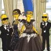 Simpsonovi, Linda Evangelista i Karl Lagerfeld