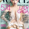 Vogue je izabrao Lady Gaga-u. Ona će najverovatnije nositi ljubičasto, a za slike će biti zaduženi Mert i Marcus. Razlog? Ako ona sama po sebi nije dovoljna, činjenica da će konačno lansirati parfem je kap koja je potrebna. (Lady Gaga na naslovnici Vogue-a u martu 2011.)