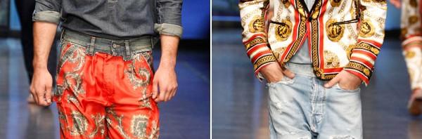 "D&G kolekcija za muškarce ""Fular"" proleće/leto 2011."