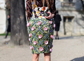 Anna dello Russo at Paris Fashion Week 2011