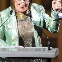 Hilary Alexander je primila Media Award na 2011 CFDA Awards