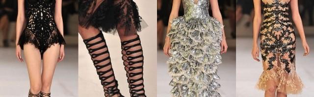 Alexander McQueen proleće/leto 2012, Ready-to-Wear, Pariz Fashion Week