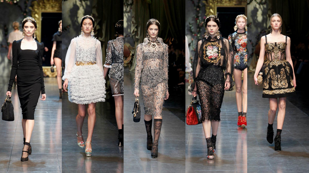Dolce&Gabbana kolekcija za jesen 2012.
