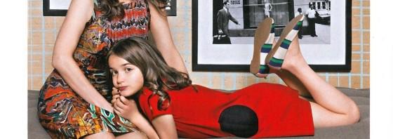 Dara-Lynn Weiss sa svojom ćerkom Bea-om (nakon dijete)