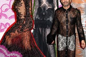 Transparentna odeća- hit među poznatima