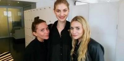 Simona Andrejić, prisustvovala je rođendanskoj žurki bliznakinja Mary-Kate i Ashley Olsen.