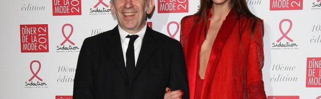 Jean Paul Gaultier i Georgina Stojiljkovic