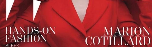 Marion Cotillard naslovnica W magazina za Decembar 2012. Fotograf: Tim Walker; Styling: Jacob K.