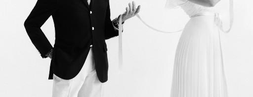 Valentino Garavani i Natalia Vodianova, 2012. Fotograf : Cathleen Naundorf