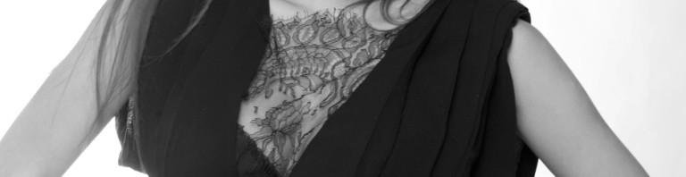 Anja Stanić nosi model Biljane Tipsarević; Fotograf: Dejan Milićević