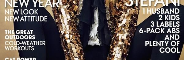 Gwen Stefani na naslovnici US Vogue