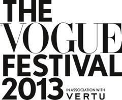 Vogue Festival 2013.