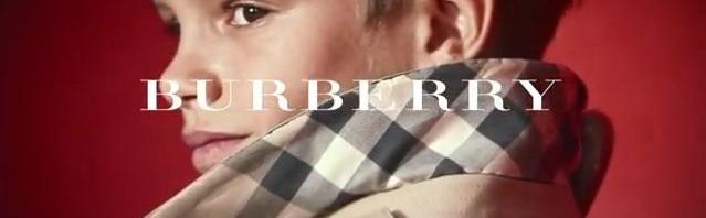 Romeo Beckham u reklamnoj kampanji za Burberry