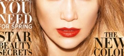 Jennifer Lopez na naslovnoj strani magazina Harper's Bazaar