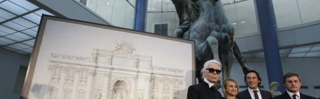 Plan projekta restauracije fontane Di Trevi