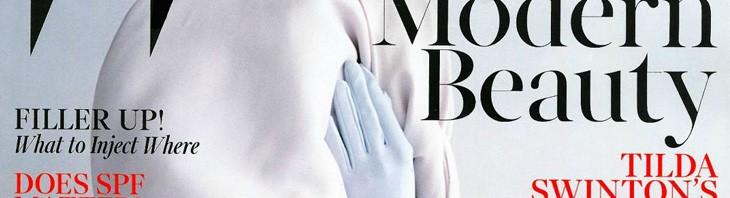 Tilda Swinton na naslovnici W Magazine-a Maj 2013.