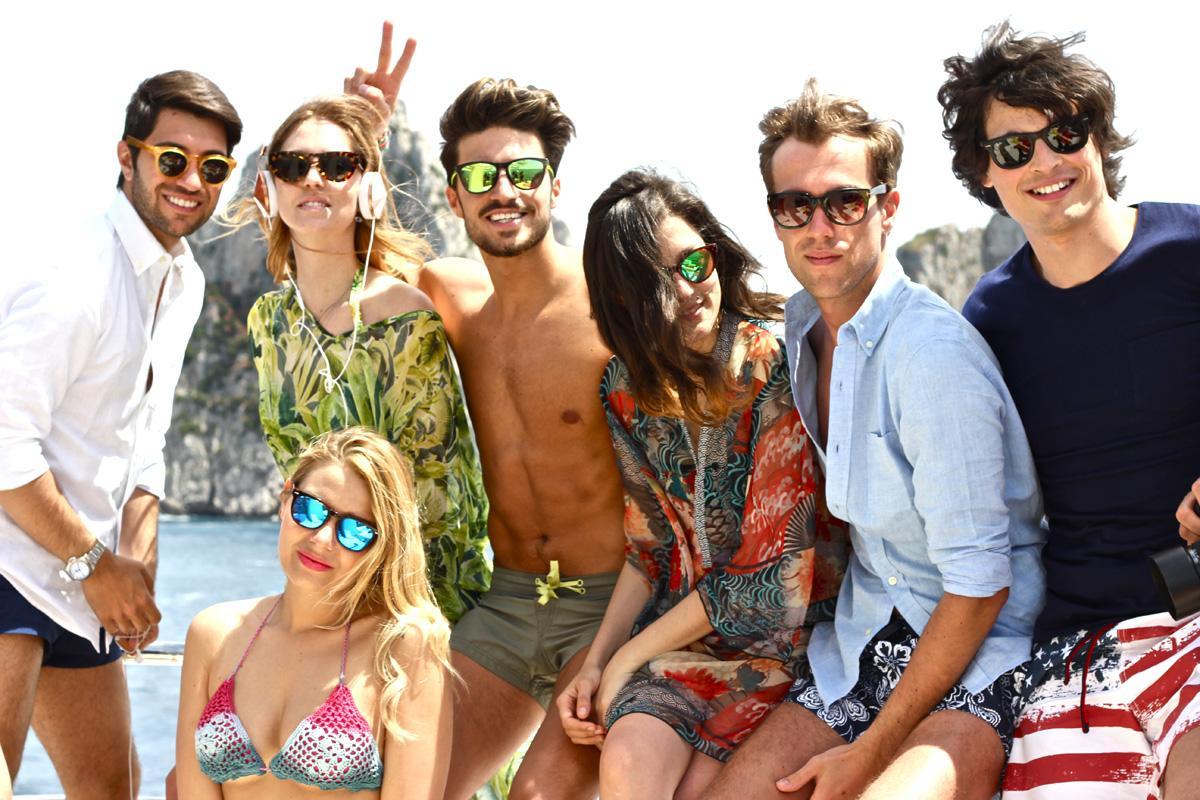 Italijanski blogeri na krstarenju sa Yamamay