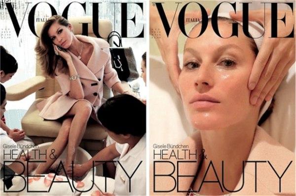 Gisele na naslovnicama Vogue Italia za jun