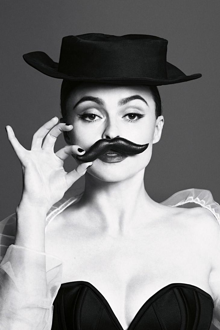 Helena Bonham Carter Vogue UK Jul 2013