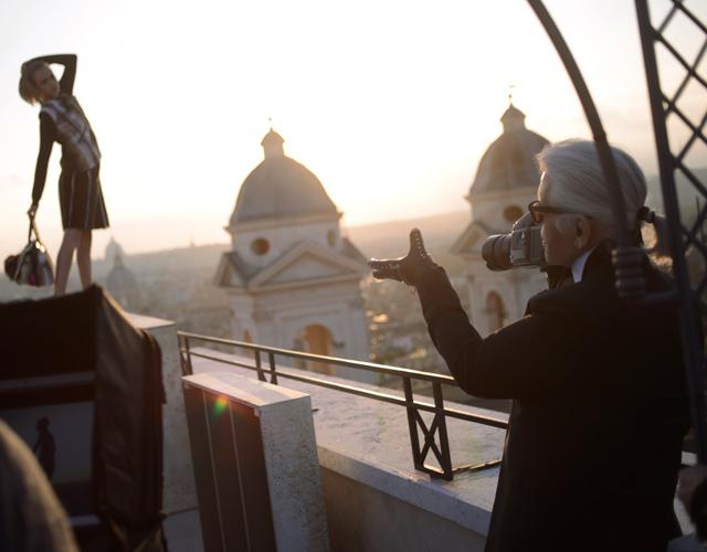 Cara Delevigne i Saskia de Brauw u kampanji za Fendi Jesen 2013
