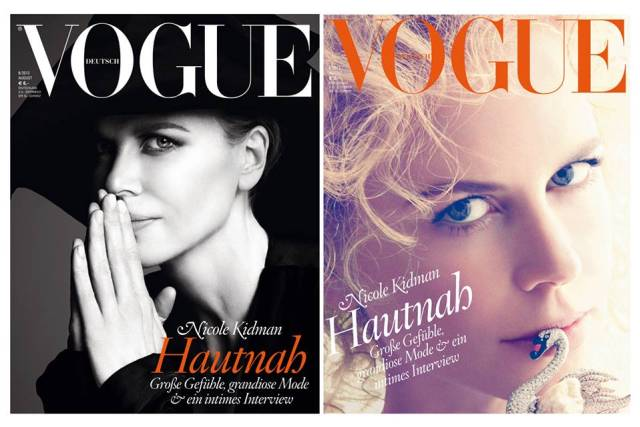 "Nicole Kidman za ""Vogue Germany"""