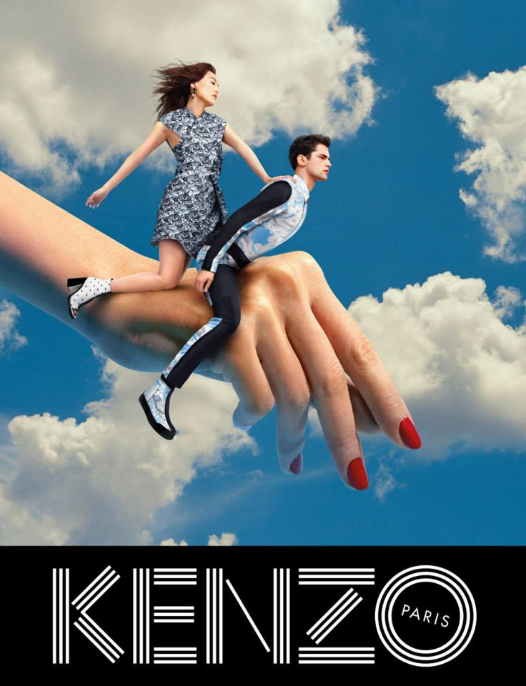 Sean Opry i Rinko Kikuchi za Kenzo jesen/zima 2013/14