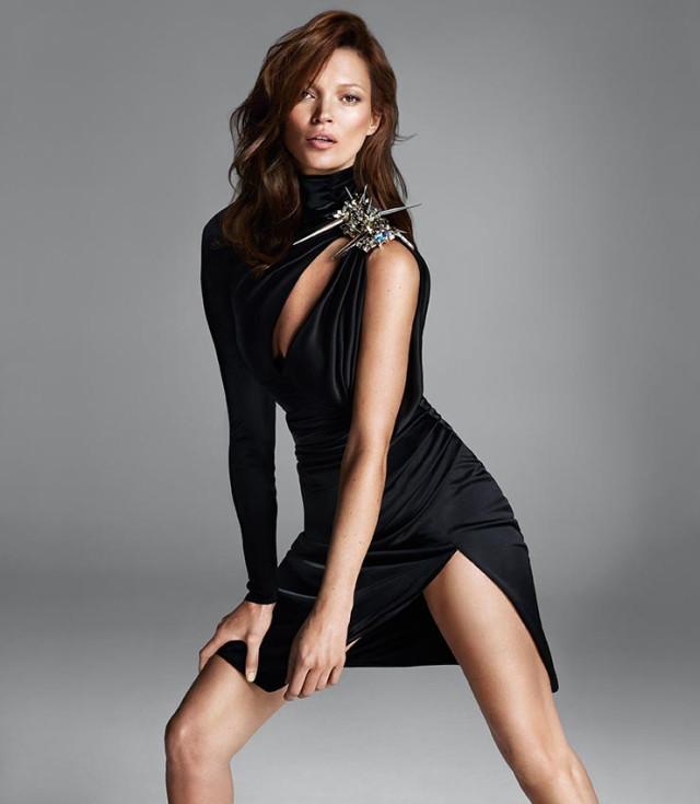 Kate Moss u reklamoj kampanji za Versace jesen 2013.