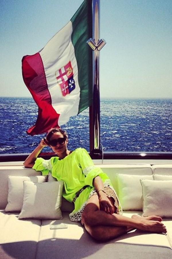 Olivia Palermo uživa na jahti