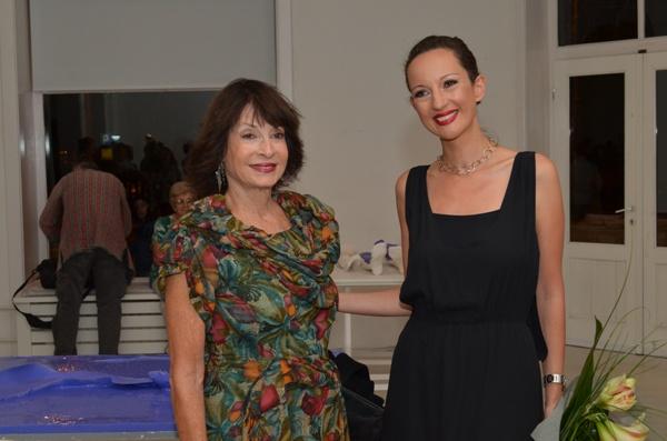 Princeza Jelisaveta Karadjordjevic sa umetnicom Martom Jovanovic