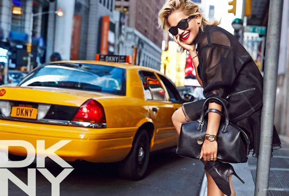 Rita Ora u kampanji za DKNY Resort 2014