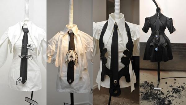 Izložba kravata Nataše Šarić